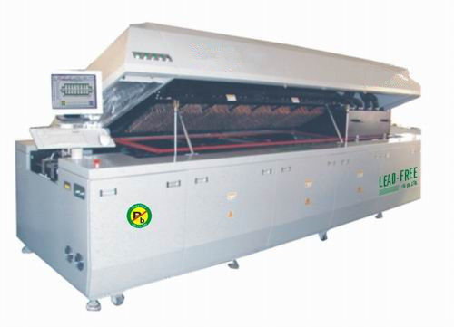 Automatic SMT Assembly Equipment 10 Zones LEAD Free Nitrogen Reflow Oven