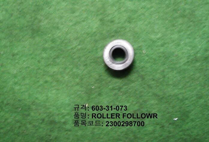TDK Spare Parts 603-31-073 Roller Follower Bearing , Roller Cam Follower Bearing