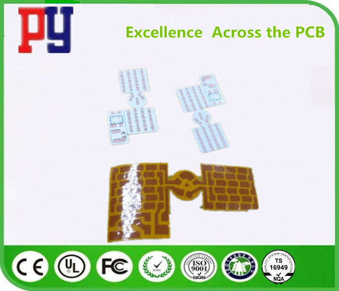 OSP Rigid Flex PCB , Flexible Printed Circuit Boards LED 51 Light G9 Candle Light