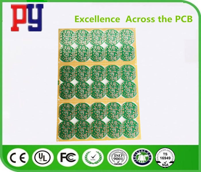 94V0 Single Sided Quick Pcb Prototype , Printed Circuit Board Assembly Durable