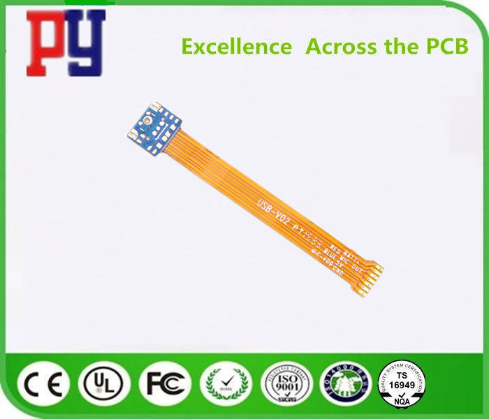 Printed Circuit Board Rigid Flex PCB Multilayer Non Halogen Material Thickness 0.15mm