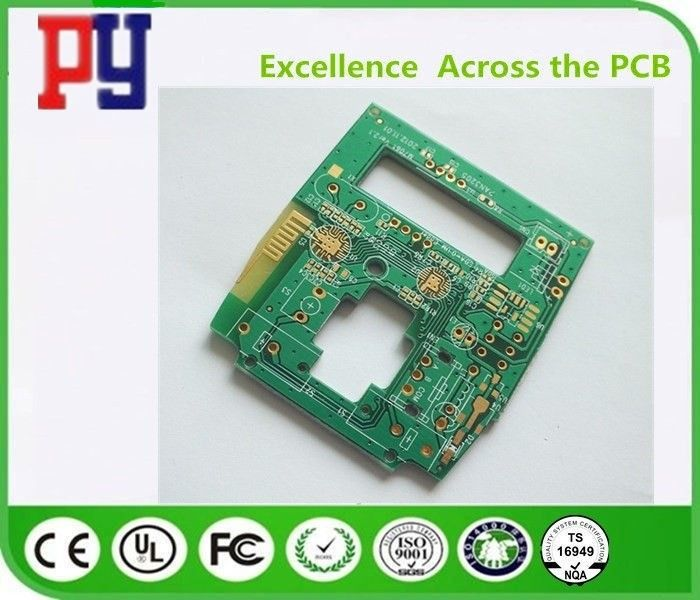1oz Copper Thickness Single Sided PCB Board Fr-4 Lead Free Surface Finishing