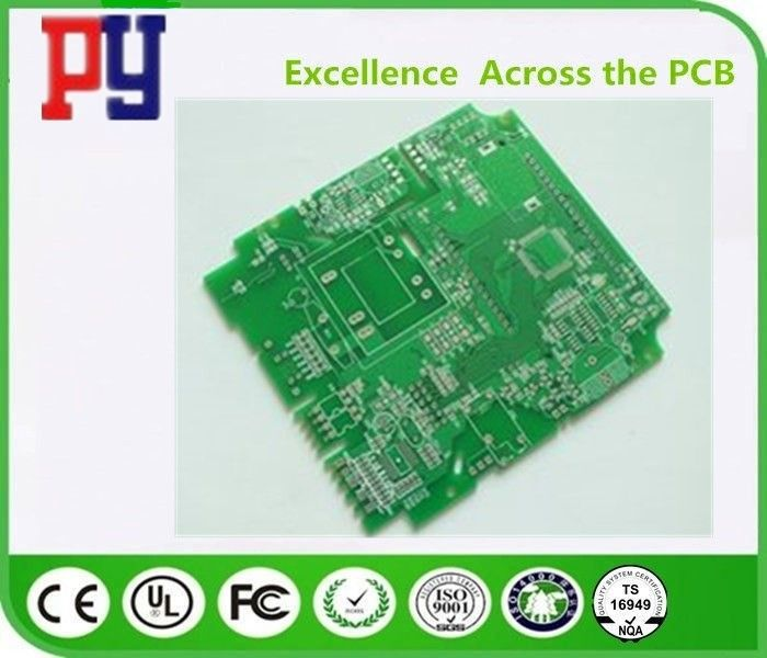 2oz Single Sided PCB Board Gold Plating 0.6mm Thickness Copper Fr4 Base Material