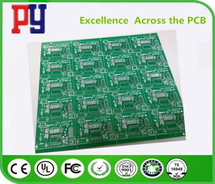 Double Side Fr4 Printed Circuit Board , 1-4oz Quick Turn Pcb Assembly With Osp