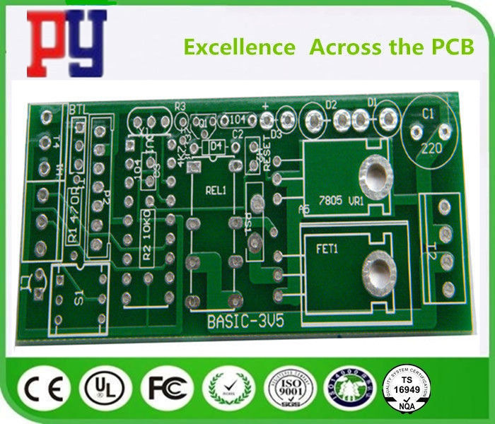 Green Solder Mask Color FR4 PCB Board 1-3 Oz Copper Thickness HASL Surface Finishing
