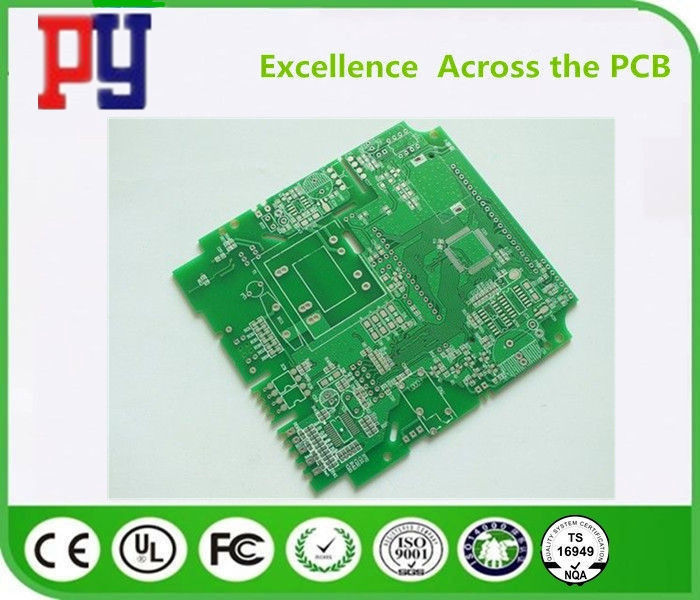 HASL Surface Finishing FR4 PCB Board Fr4 Base Material 1-4oz Copper With Osp