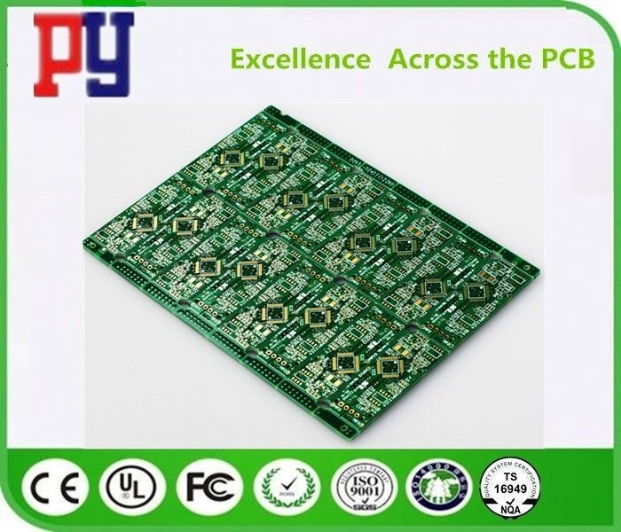 HDI Multilayer PCB Circuit Board Fr4 1.6 1OZ Immersion Gold Surface Finishing