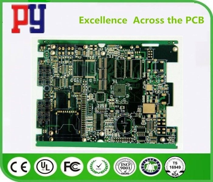 1OZ Copper Fr4 Multilayer PCB Circuit Board , High Density Circuit Boards 10% Impedance