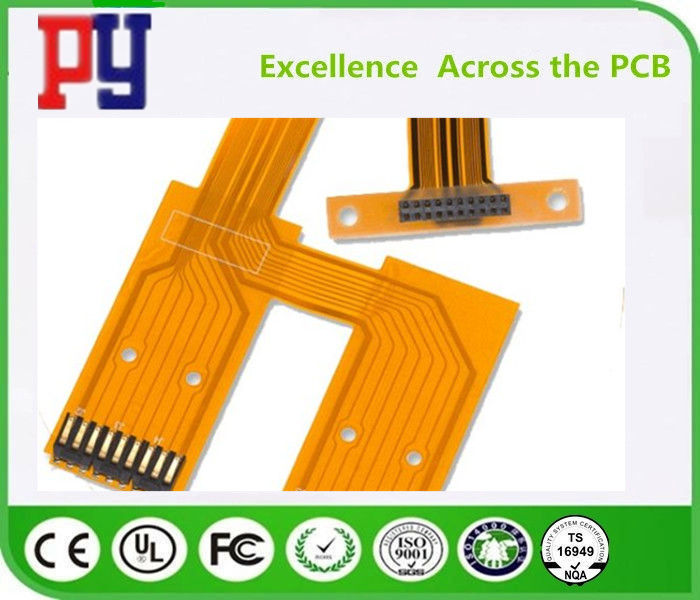 2  layers  flexible pcb 0.5 OZ   double side Board   polyimide